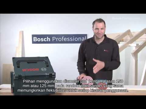 Bosch Random Orbit Sander - GEX 125/150 AVE Professional