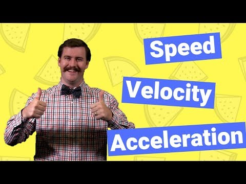 Speed, Velocity, and Acceleration | Physics of Motion Explained