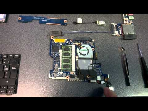 Démontage motherboard ACER Aspire One