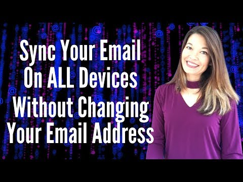 Sync Email Without Having to Change Your Email Address using Gmail