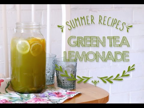 How to make Matcha Green Tea Lemonade ♥