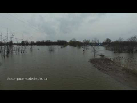 Ottawa Region Flooding - Petrie Island - May 8th, 2017