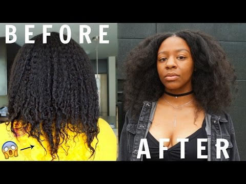 How To REPAIR DAMAGED Natural Hair | Dry, Brittle + Thinning (Straight Ends)