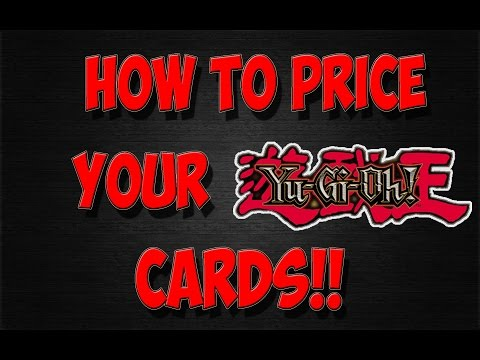 How To Price Your Yu-Gi-Oh! Cards - Card Economics (intch95)