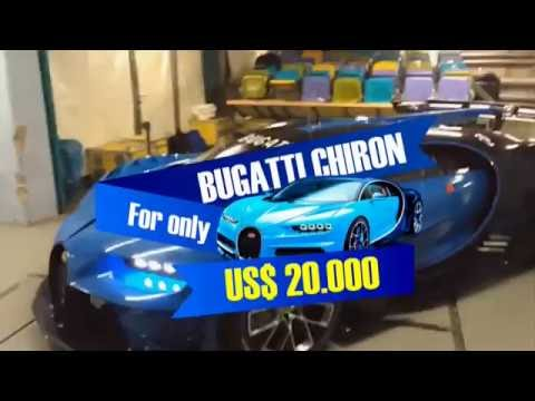 Bugatti Chiron for only US$20,000