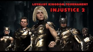 Dwayne N Jazz Vs Loyalists Kingdom Injustice 2