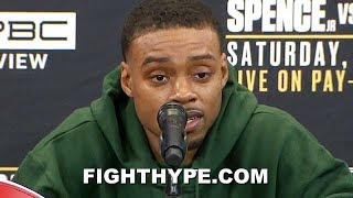 """(WHOA!) ERROL SPENCE SAVAGELY THREATENS """"COCKY"""" GARCIA WITH """"ONE-SIDED MASSACRE""""; VOWS TO PUNISH HIM"""