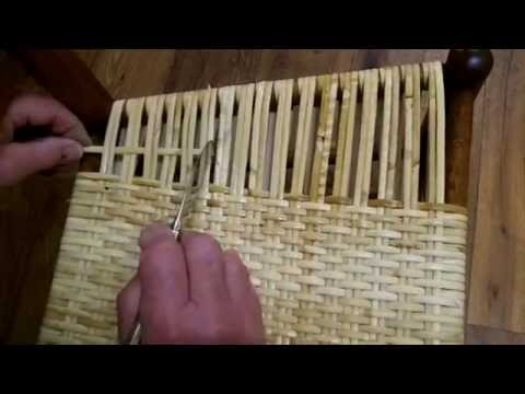 How to Weave a New England Porch Rocker: One Variation