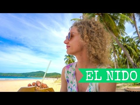 El Nido as a Female Solo Traveler | Palawan | 🇵🇭 Philippines 2017 | Tapik Beach Sibaltan