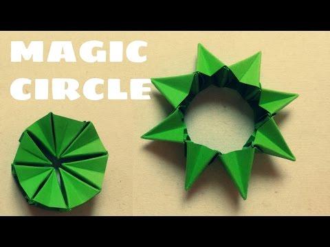 Origami Magic (Flexible) Circle - Origami Easy