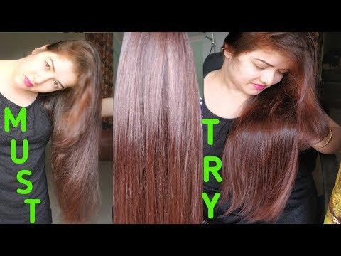Get Natural Red Color with Henna.#Naturally#Burgundy पाएं बालों की खुबसुरत लाल रंग से।