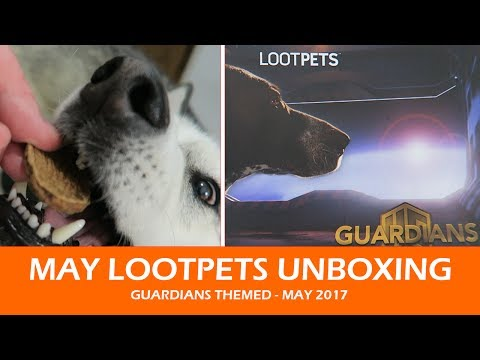 MAY LOOTPETS UNBOXING | May 2017 Guardians Theme
