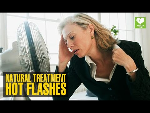Hot Flashes - How To Cure Naturally | Health Tips | Education