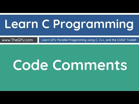 Learn C Programming - Comments in Your Code