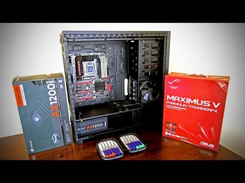 Ultimate Gaming PC Build Video #1 (UGPC 2012 Gaming Computer)