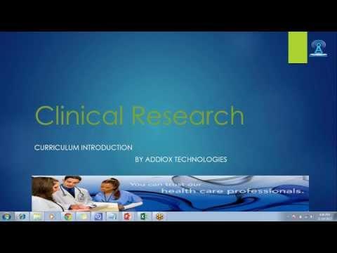CLINICAL RESEARCH ASSOCIATE ONLINE TRAINING