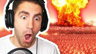 NUKE vs 1,000,000 ZOMBIES - Ultimate Epic Battle Simulator | Pungence