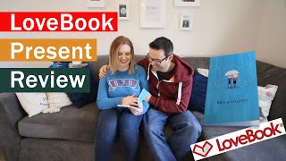 Lauren reviews the LoveBook I gave her for Christmas and a short guide of how to create a LoveBook