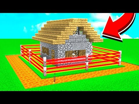 HOW TO BUILD A MOB PROOF HOUSE IN MINECRAFT!