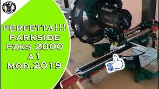 Lidl Scie à Onglet Radiale Parkside Pzks 1500 Test Sliding