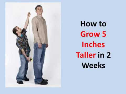 How to Grow 5 Inches Taller in 2 Weeks (Guaranteed!)