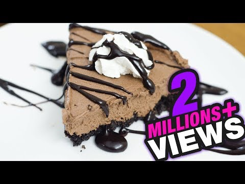 CHOCOLATE MOUSSE CAKE Without Bake or Without Oven