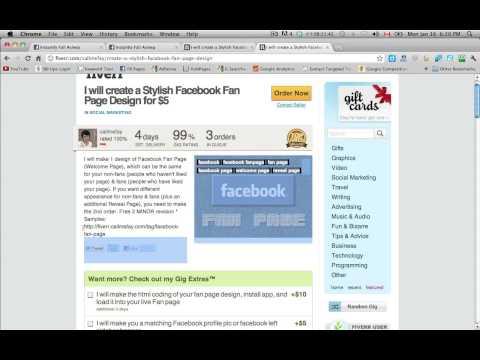 Cheap Facebook Page Design
