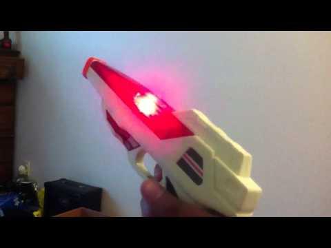 80's laser gun sound montage