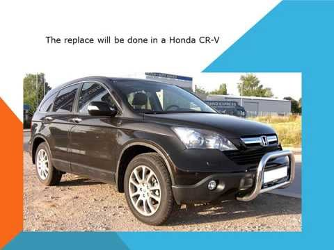 Honda CR V How to replace the cabin air filter