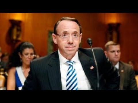Rosenstein threatened to subpoena House Intelligence staffers in January