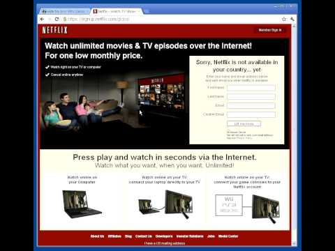 Demo: Watch Netflix or Hulu Overseas