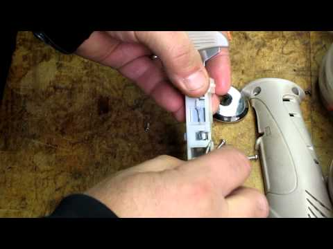 fixing my rapala electric fillet knife