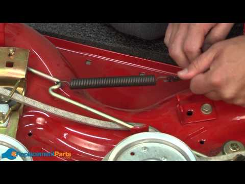 How to Replace the Extension Spring on a Troy-Bilt Pony Lawn Tractor (Part # 932-0384)