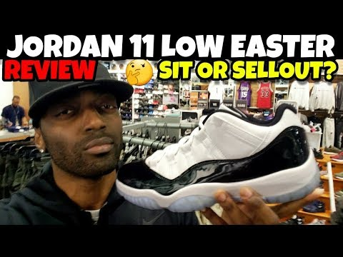 Jordan 11 Low Easter Review!! Will These Sellout Or Sit Like Ducks?