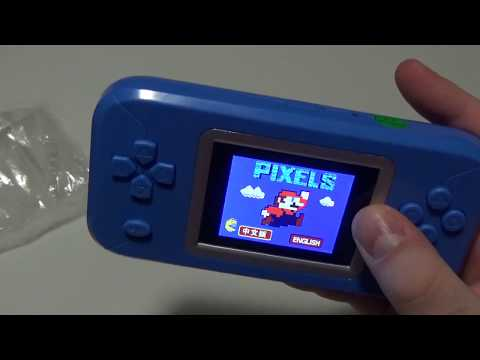 Cheap Handheld GameBoy Advance/GameBoy Micro Style Emulation Device Overview