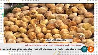 Iran Joz-e Ghand Traditional Sweet Dried Fruits Candy, Kashan county جوز قند شهرستان كاشان ايران