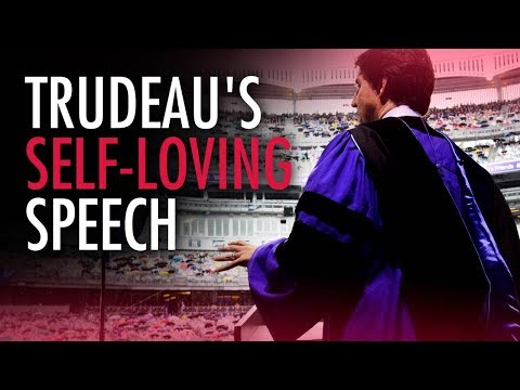 Trudeau uses NYU speech to brag about his vacations | Ezra Levant
