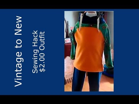 Sewing Remake / Recycle Clothing For Children