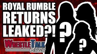 SHOCK ROYAL RUMBLE 2018 RETURNS LEAKED?! | WrestleTalk News Jan. 2018