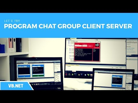 VB.Net - How to Create a Chat Group Application Client Server