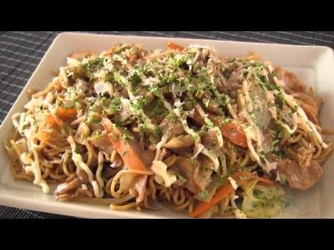 How to Make Yakisoba (Recipe) | OCHIKERON | Create Eat Happy :)