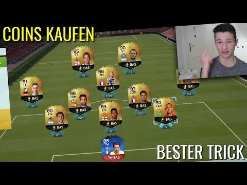 FIFA 16 COINS KAUFEN (10€ - 100K) | ULTIMATE TEAM DEUTSCH | MMOGA | FIFAllstars