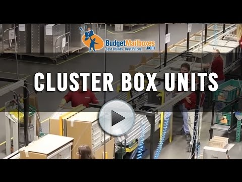 Florence Manufacturing | Cluster Box Units | Budget Mailboxes