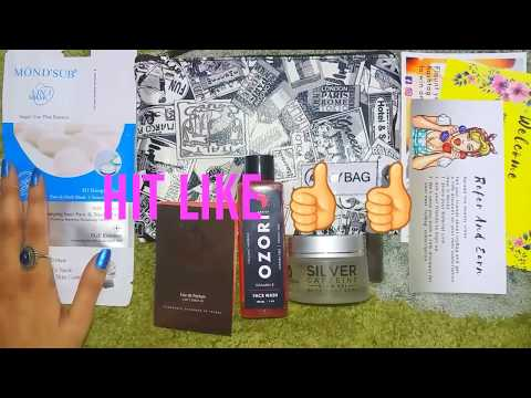 Rs.1000 Products in Just Rs.499 | Ozori , MCaffeine , Mond'sub | IVY BAG | Unboxing & Review|