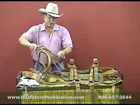 Outfitters Pack Station Sawbuck Pack Saddle