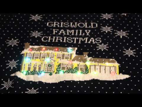 Griswold Family Christmas Light Up Ugly Sweater