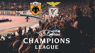 AEK-Benfica 2-3 Champions League 2018-19
