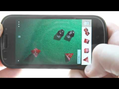 DiceShaker D&D - a 3D RPG dice roller for Android