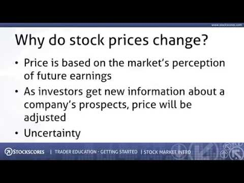 Getting Started - Introduction to the Stock Market