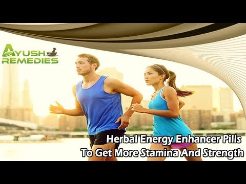 Herbal Energy Enhancer Pills To Get More Stamina And Strength